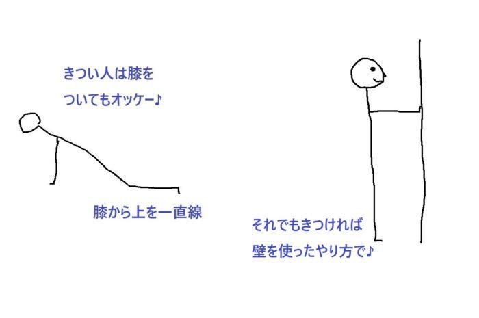 プッシュアップ4