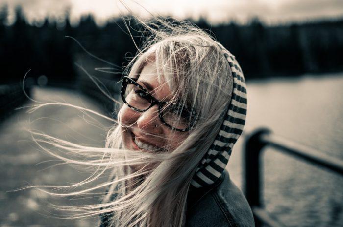 Model, Smile