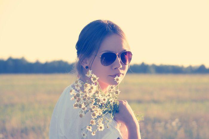 Field, Girl