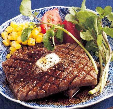 こんにゃく照り焼きステーキ