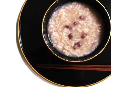 小豆のおかゆ