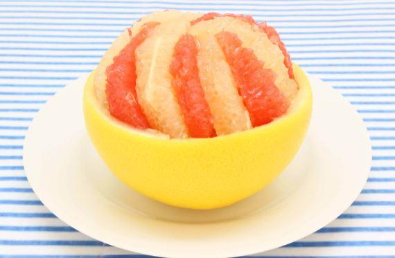 グレープフルーツのマリネ