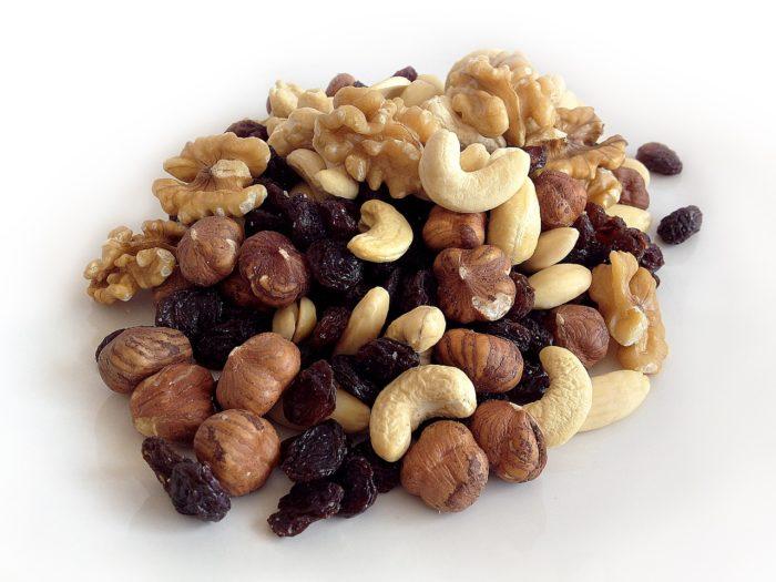Nuts, Raisins